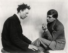 Painters Gottfried Brockmann and Willi Bonguard (Cologne 1924) - Sander Collection - Photography - Amber Online