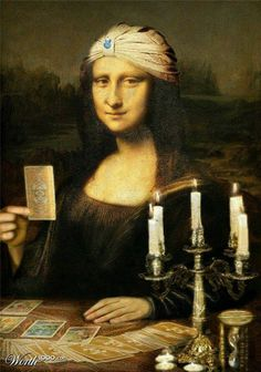 Mona Lisa tarot reader