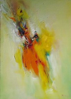 The flight itself was not my intention but moving color, their streamlining, to create the sensation of flying, always give a good feeling, especially when it comes from painting. Original Art, Things To Come, Abstract, Painting, Color, Summary, Painting Art, Colour, Paintings