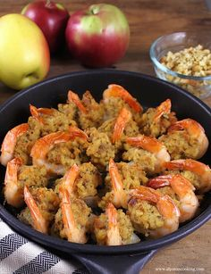 Baked Jumbo Shrimp Stuffed Baked Jumbo Shrimp are so easy to prepare and taste incredibly delicious!Stuffed Baked Jumbo Shrimp are so easy to prepare and taste incredibly delicious! Baked Shrimp Recipes, Shrimp Recipes For Dinner, Seafood Dinner, Fish Recipes, Seafood Recipes, Appetizer Recipes, Appetizers, Baked Stuffed Shrimp, Stuffed Shells Recipe