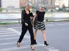 Get Your Street Style Fix Straight From New York Fashion Week Day 1 Kate Lanphear