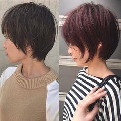 Hair Color #紺野ショート#ショートヘア