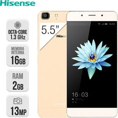 "Hisense C1 Dual Sim 16GB 2GB RAM 5,5"" LTE Dorado | Móvil | InterTienda"