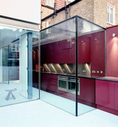 Seamless house Extension in Pursers Cross by David Mikhail Architects