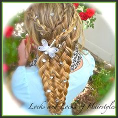 Locks and Locks of Hairstyles: Bohemian Twist with a Rope Twist