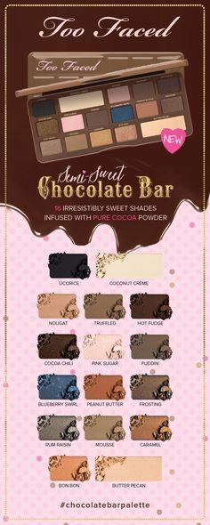 Too Faced Semi-Sweet Chocolate Bar Eye Shadow Collection - TooFaced.com