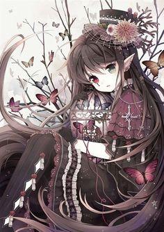 85 Best Anime Heterochromia Images On Pinterest Anime Girls Manga
