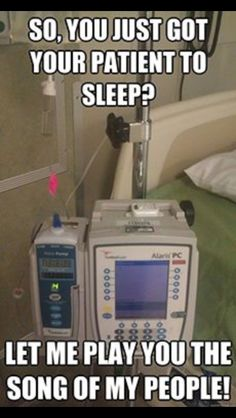 When I tried to sleep after having my daughter all I remember is this stupid little machine. Hahaha