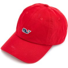 Whale Logo Baseball Hat ($25) ❤ liked on Polyvore featuring accessories, hats, logo baseball caps, ball cap hats, logo baseball hats, logo ball caps and baseball hats