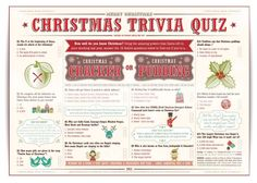Free christmas picture quiz questions and answers google search 6 best images of easy christmas trivia printable free printable christmas games trivia and answers christmas trivia questions for adults and easy sciox Gallery