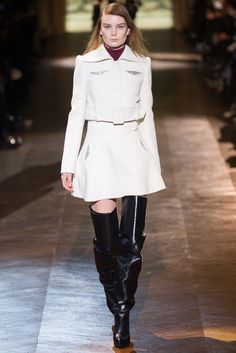 Carven Fall 2014 Ready-to-Wear Fashion Show - Emilie Ellehauge (NATHALIE)