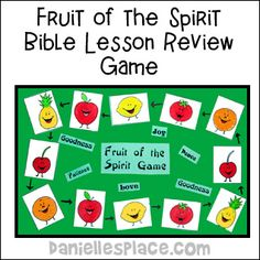 Fruit of the spirit Game www.daniellesplace.com
