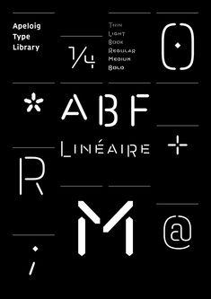 Philippe Apeloig – Apeloig Type Library / Nouvelle Noire