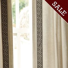 1000 Images About Curtain Panel Inspirations On Pinterest Curtains Greek Key And Clarence House