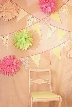 little girl tea party with bring your own doll - this blog had some cute ideas along with a fun photo booth time