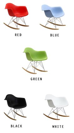 Retro Modern Molded Rocking Chair at www.dcgstores.com - Sales $164.00