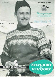 645 Norwegian Knitting, Jumpers, Knitting Patterns, Barn, Poster, Kids, Jackets, Vintage, Groomsmen