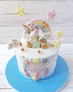 Candy Birthday Cakes, Creative Birthday Cakes, Beautiful Birthday Cakes, Cake Designs For Girl, Girls First Birthday Cake, Rodjendanske Torte, Baby Girl Cakes, Birthday Cake Decorating, Themed Cakes