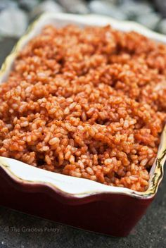 This Clean Eating Mexican Rice Recipe is a simple, delicious and versatile recipe you can season any way you like. From TheGraciousPantry.com.