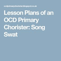 """Lesson Plans of an OCD Primary Chorister: """"Seek The Lord Early"""" Lip Sync Primary Songs, Primary Singing Time, Name That Tune, Primary Chorister, Seek The Lord, Visual Aids, Lip Sync, Lesson Plans, The Man"""