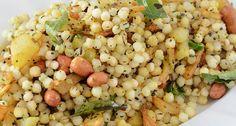 Savory Tapioca | Sabudana Khichdi Recipe http://blog.mevolife.com/savory-tapioca-sabudana-khichdi/ #recipe #tapioca #sabudana #khichdi #taste #kitchen #mevo #healthy