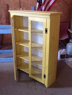 Pie safe. Want this in weathered white. | For the Home | Pinterest ...