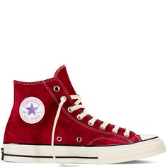 Chuck Taylor All Star '70 Vintage Suede Red Dahlia/Black/Egret red dahlia/black/egret