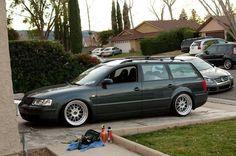 10 Amazing Stanced Passat Wagons - VW Parts Vortex Blog