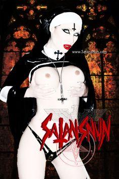 satansnun:   www.SatansNun.com  www.Demoniccunt.com www.facebook.com/SatansNun Lillith Goddess, Steampunk, Godly Woman, Priest, Occult, Satan, Erotica, The Darkest, Religion
