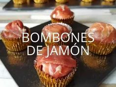 Bombones de jamón | Cocina Cooking Time, Cooking Recipes, Tapas Menu, Gourmet Gift Baskets, Christmas Dishes, Appetizer Dips, Finger Foods, Catering, Food And Drink