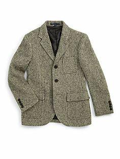 Ralph Lauren Boy's Wool Princeton Jacket-$276.50