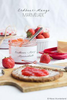 Erdbeer-Mango-Marmelade #frühstück #breakfast