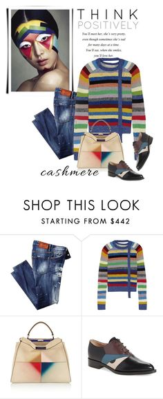 """#cashmere"" by vinograd24 ❤ liked on Polyvore featuring Marc Jacobs, Fendi and cashmere"