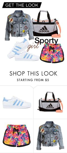 """""""Let's go :)"""" by andzelika-niklewicz on Polyvore featuring adidas, Converse and Alice + Olivia"""
