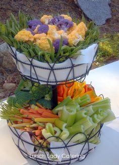 Garden Crudite Basket