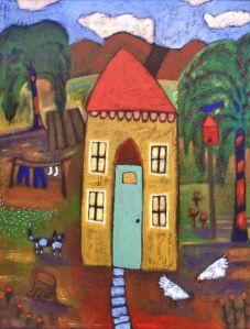 My favorite folk artist, Terrell Powell