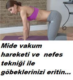 Bu yöntem ile hem egzersiz hemde nefes tekniğ… Melting the navel with vacuum movement. With this method you will melt your belly with both exercise and breathing technique. Fit Board Workouts, Gym Workouts, Healthy Sport, Fitness Diet, Health Fitness, Benefits Of Cardio, Types Of Cardio, Yoga Pilates, Workout Bauch
