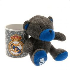 Real madrid fc #football club mug & bear set gift #birthday present #genuine,  View more on the LINK: 	http://www.zeppy.io/product/gb/2/272507098219/