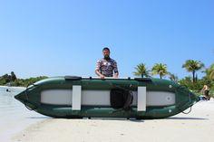 Saturn Inflatable Ocean Fishing Kayak OFK396 Inflatable Fishing Kayak, Kayak Fishing, Kayak Seats, Ocean Kayak, Strong Back, Pvc Fabric, Kayak Paddle, Whitewater Kayaking, Water Sports