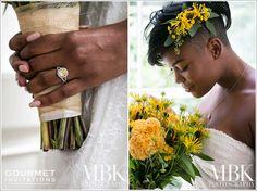 Maryland inspired wedding with black-eyed susans