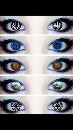 My Chemical Romance, Breaking Benjamin, Bring Me the Horizon, Pierce the Veil, and Black Veil Brides Eyes. I want these contacts