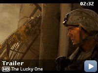 The Lucky One. Christopher Sparks. I'm going to ball my eyes out but I'll love it.