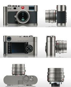 LEICA M9 Edición Titanium Photography Camera, Photography Tips, Camera Equipment, Leica Camera, Toys For Boys, Industrial Design, Binoculars, Photo Art, Porn