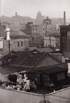 東京 銀座 Ginza, Tokyo. Kimura Ihei, 1954.