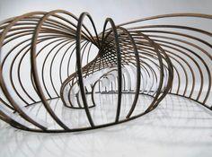 Arquitectura, modelo, maqueta, estructura, espiral