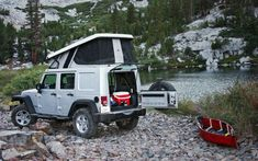 Awesome Jeep Camper Conversion