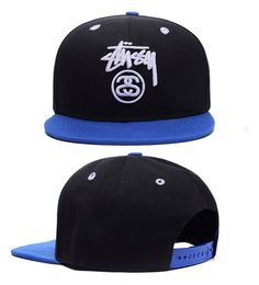 New Fashion trend Men's Snapback adjustable Baseball cap Hip Hop COOL Blue Hat | eBay