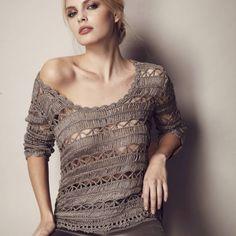 Inspirações de Croche com Any Lucy: Linda Blusa!!!