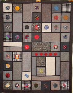 T-Wools & Ties by Linda Rotz Miller Quilts & Quilt Tops, via Flickr