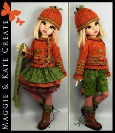 """* FALL * Outfit for Kaye Wiggs 17"""" Talyssa, Mei Mei MSD BJD Maggie & Kate Create"""
